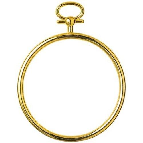 Vervaco Kunststoflijst goudkleurig cirkel (p.1st)