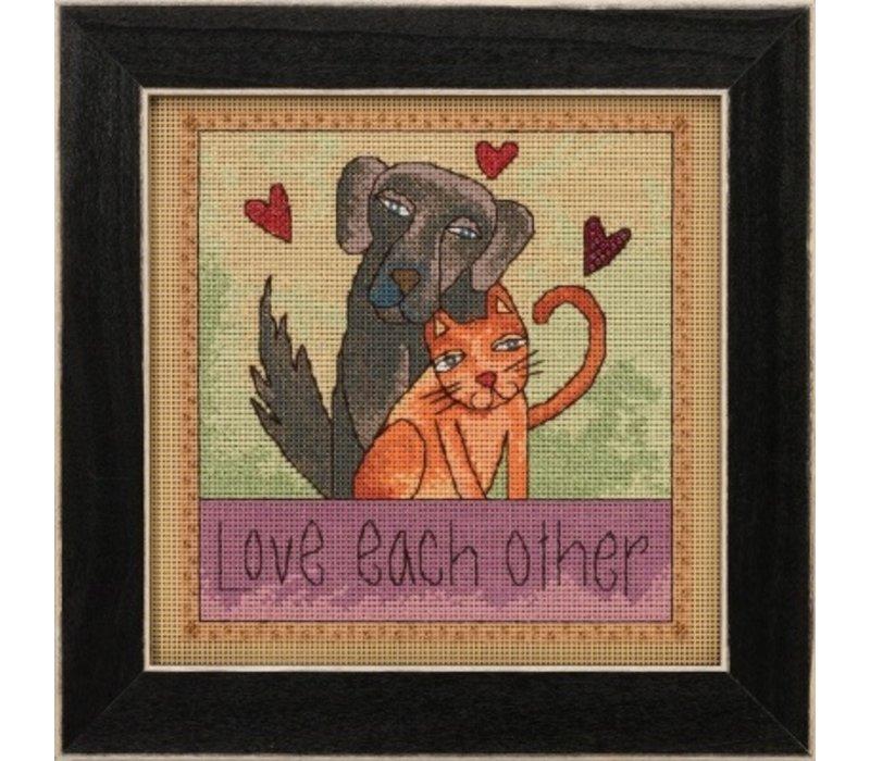 Mill Hill Sticks Kits - Love Each Other