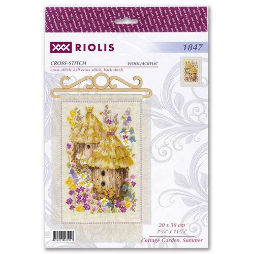 RIOLIS Borduurpakket Cottage Garden - Summer - RIOLIS