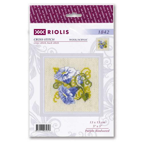 RIOLIS Borduurpakket Purple Bindweed - RIOLIS