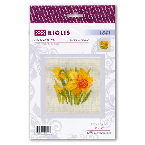 RIOLIS Borduurpakket Yellow Narcissus - RIOLIS