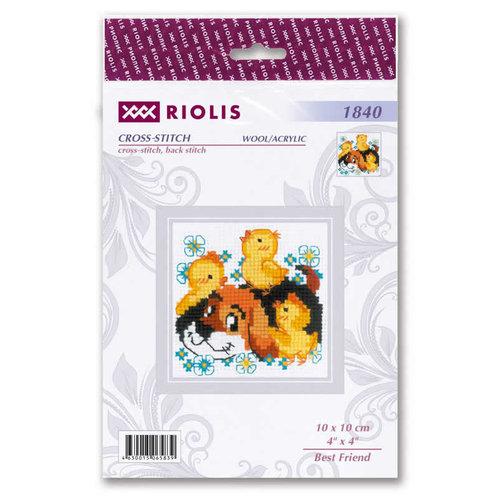 RIOLIS Borduurpakket Best Friend - RIOLIS
