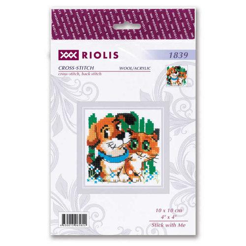 RIOLIS Borduurpakket Stick with Me - RIOLIS