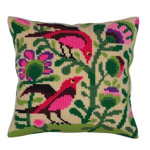 Collection d'Art Kussenborduurpakket Birds of Paradise - Collection d'Art