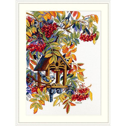 Merejka Borduurpakket Colorful Rowan  - MEREJKA