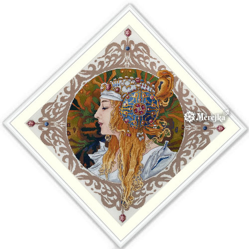 Merejka Borduurpakket Blond by Mucha - MEREJKA