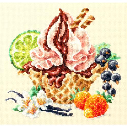 Chudo Igla Borduurpakket Vanilla Ice Cream - Chudo Igla