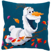 Kruissteekkussen kit Disney Frozen 2 Olaf
