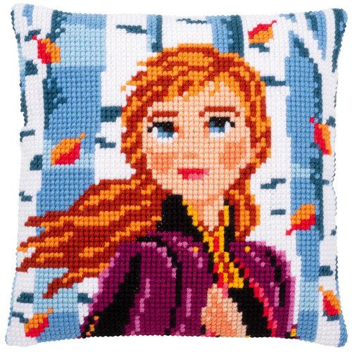Vervaco Kruissteekkussen kit Disney Frozen 2 Anna