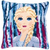 Kruissteekkussen kit Disney Frozen 2 Elsa