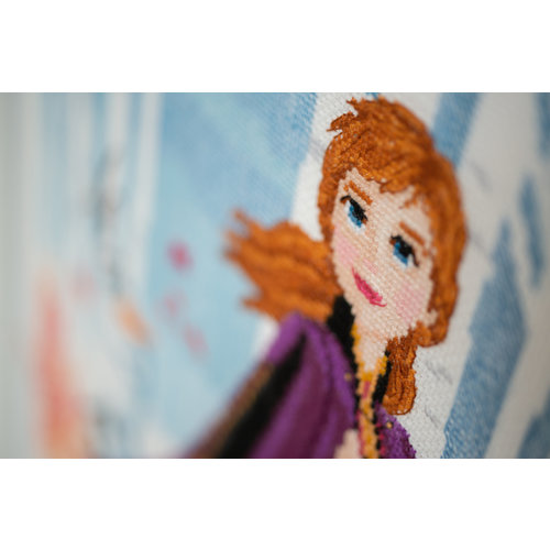 Vervaco Telpakket kit Disney Frozen 2 Anna