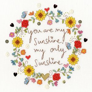 Bothy Threads Kim Anderson - Love Sunshine