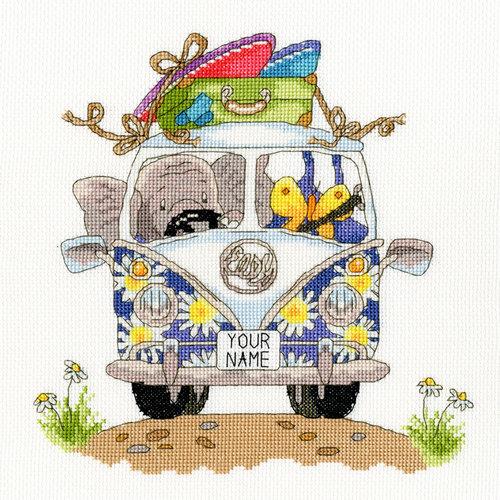 Bothy Threads Simon Taylor Kieltie - Pack your trunk