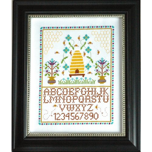 Tiny Modernist Borduurpatroon Beehive sampler