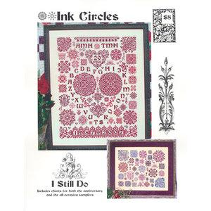 Ink Circles Borduurpatroon I Still Do (2 patronen)