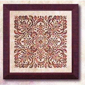 Ink Circles Borduurpatroon Henna Mandala