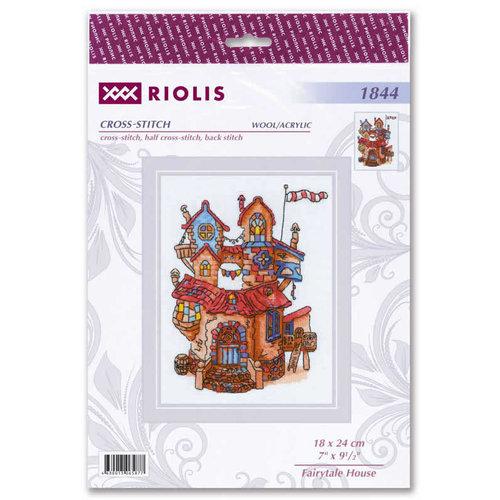 RIOLIS Borduurpakket Fairytale House