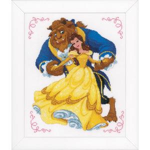 Vervaco Telpakket kit Disney Beauty and the beast