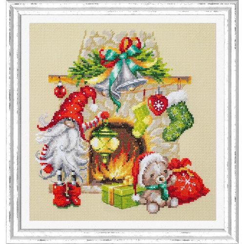 Chudo Igla Borduurpakket Waiting for Christmas - Chudo Igla