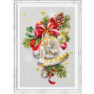 Chudo Igla Borduurpakket Christmas Bell - Chudo Igla