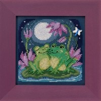 Buttons Beads Spring Series: Courtin' Froggies