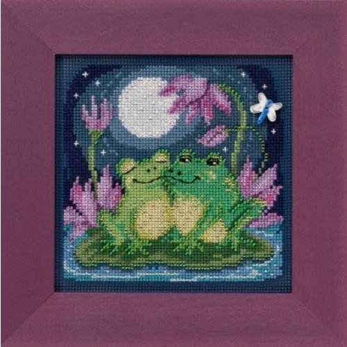 Mill Hill Buttons Beads Spring Series: Courtin' Froggies