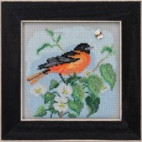 Buttons Beads Spring Series: Baltimore Oriole