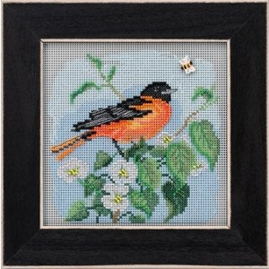 Mill Hill Buttons Beads Spring Series: Baltimore Oriole