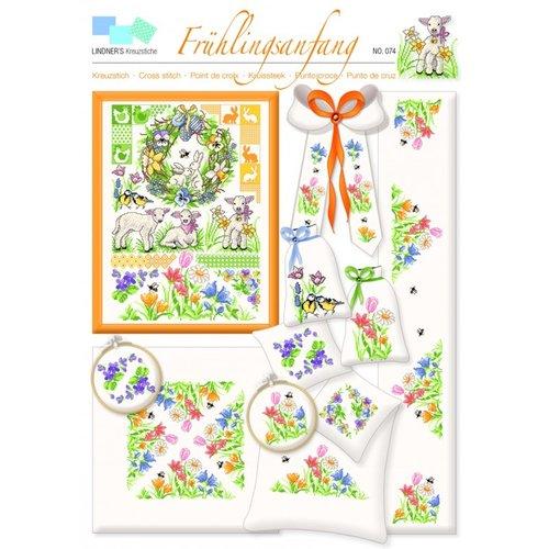Lindner Patroon Lindner 074 - Begin van de lente