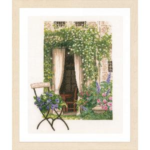 Lanarte Telpakket kit Romantisch tuinraam