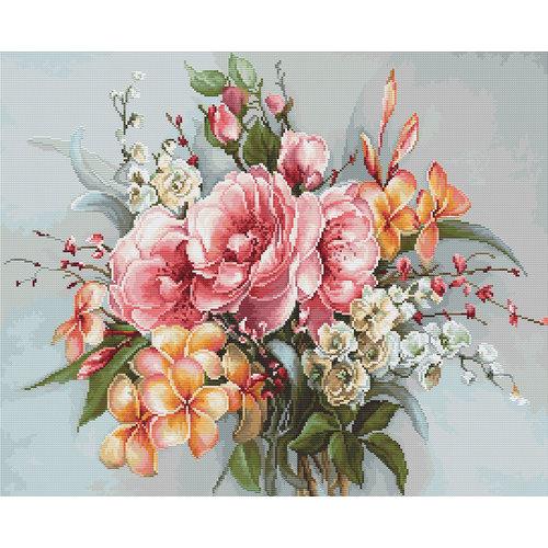Luca-S Borduurpakket Flower Bouquet