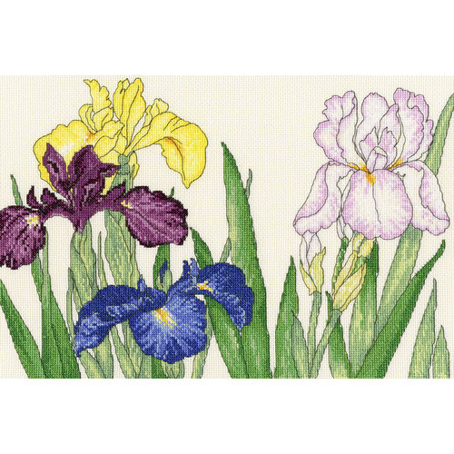 Bothy Threads Iris Blooms