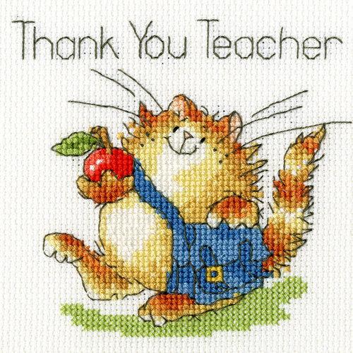 Bothy Threads Margaret Sherry - An apple for teacher