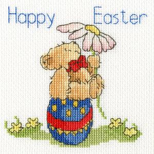 Bothy Threads Margaret Sherry - Easter Teddy