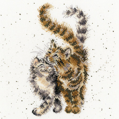 Bothy Threads Hannah Dale - Feline Good
