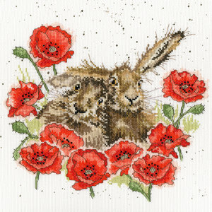Bothy Threads Hannah Dale - Love is in the hare