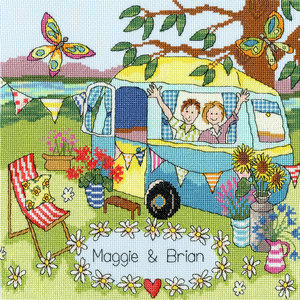 Bothy Threads Julia Rigby - Our Caravan