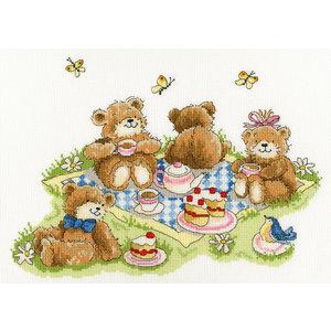 Bothy Threads Margaret Sherry - Teddybear's Picknick