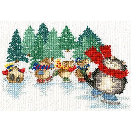 Bothy Threads Margaret Sherry - Mice Skating