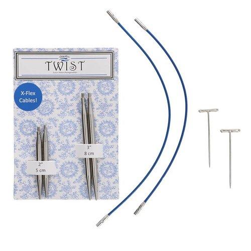 ChiaoGoo TWIST Lace Short-5+8 cm-1,50-5,00mm