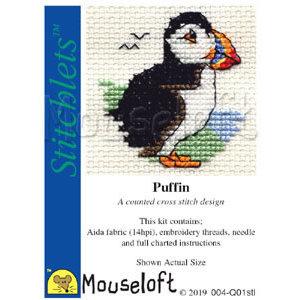 Mouseloft Borduurpakket Puffin - Mouseloft