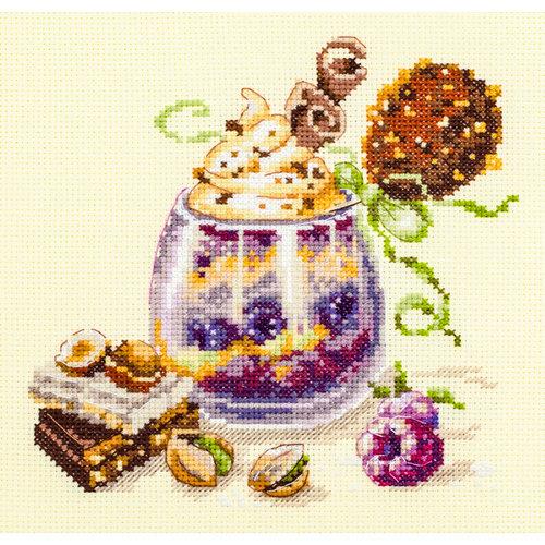 Chudo Igla Borduurpakket Chocolate Dessert - Chudo Igla
