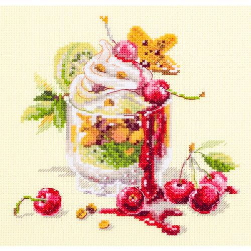 Chudo Igla Borduurpakket Cherry Dessert - Chudo Igla