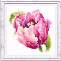 Borduurpakket Pink Tulip - Chudo Igla