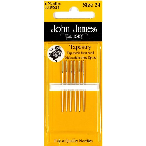 John james John James - Borduurnaald #24 zonder punt