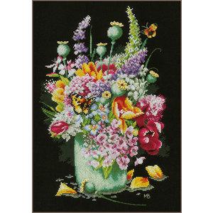 Lanarte Telpakket kit Kleurig bloemenboeket