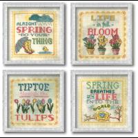 Borduurpatroon Spring Signs