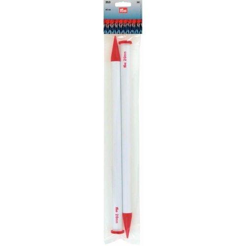 Prym Breinaalden met Knop 40 cm - 8,00 - 25,00 mm