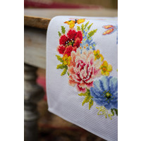 Pearlaida loper kit Kleurige bloemen
