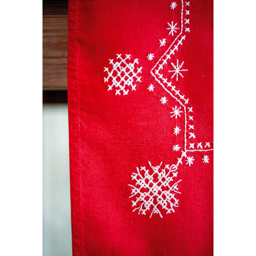 Vervaco Loper kit Witte kerststerren